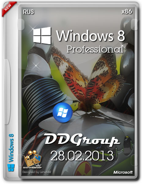 Windows 8 Professional x86 DDGroup v.3 (RUS/28.02.2013)